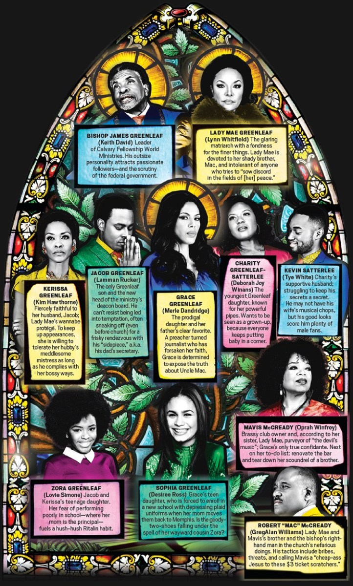 Greenleaf S1 E1 A Time To Heal Synopsis Not Church As Usual